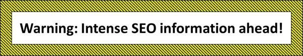seo info ahead