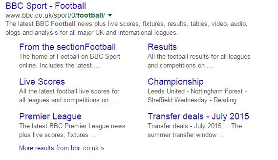 United Kingdom football search