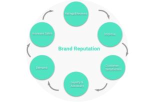 brand reputation flow chart