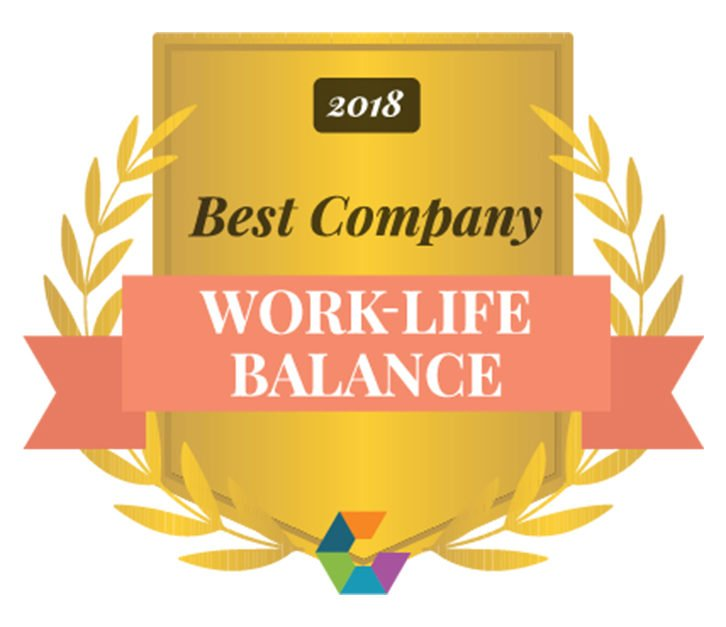 Boostability Wins: 2018 Best Work Life Balance [Infographic]