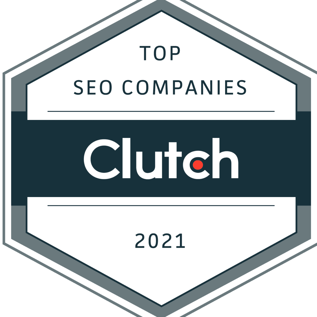 Clutch 2021 Best SEO Company Award