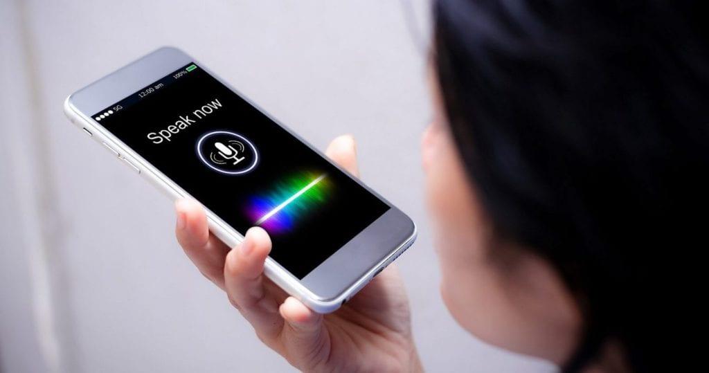 iphone that says speak now
