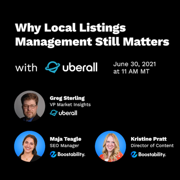 Uberall Search Sessions